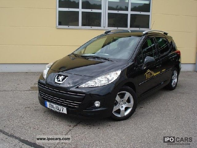 2011 peugeot 207 sw hdi fap 110 black lion premium car. Black Bedroom Furniture Sets. Home Design Ideas