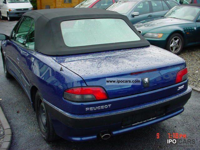 2002 peugeot 306 cabriolet 1 6 premium car photo and specs. Black Bedroom Furniture Sets. Home Design Ideas