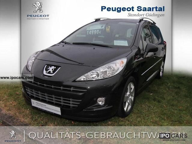 2011 Peugeot  16V 207 1.6 HDi 110 FAP S 6 Ltr Estate Car Used vehicle photo