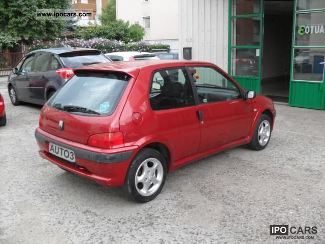 2000 peugeot 106 cat 3 porte sport prezzo trattabile car photo and specs. Black Bedroom Furniture Sets. Home Design Ideas