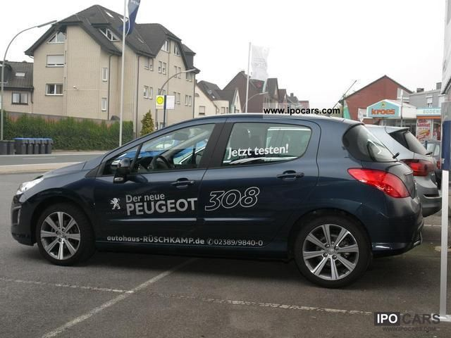 2011 peugeot 308 120 1 6 vti panoramic roof car photo and specs. Black Bedroom Furniture Sets. Home Design Ideas