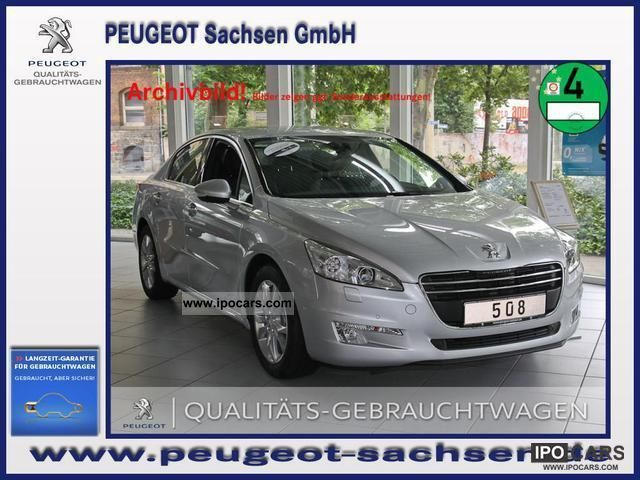 2012 Peugeot  508 GT HDI 205 auto JBL HeadUp display Limousine Demonstration Vehicle photo