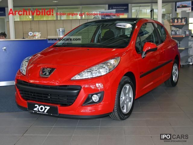 2012 peugeot 207 presence 120 vti 3t climate pdc car photo and specs. Black Bedroom Furniture Sets. Home Design Ideas