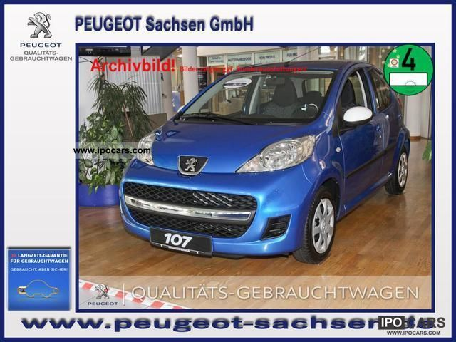 2012 Peugeot  107 Filou 70 5T air Small Car Demonstration Vehicle photo