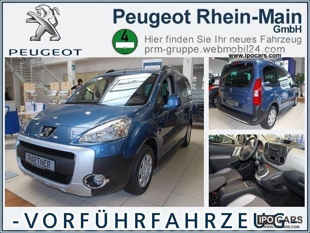 2012 Peugeot  Partner Tepee Outdoor 1.6 Hdi Estate Car Demonstration Vehicle photo