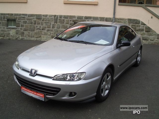 2004 peugeot 406 coupe 2 2 16v ultimate edizione 1 hand car photo and specs. Black Bedroom Furniture Sets. Home Design Ideas