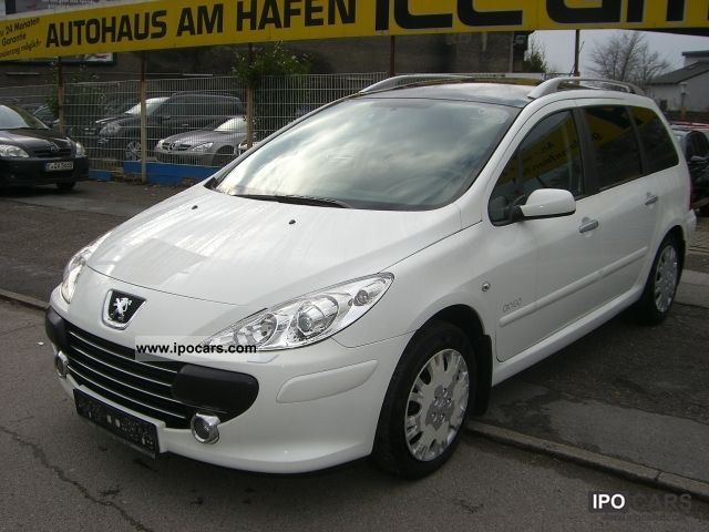 2007 peugeot 307 sw hdi fap oxygo 135 7 seater xenon panorama car photo and specs. Black Bedroom Furniture Sets. Home Design Ideas
