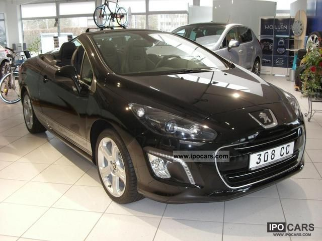 2012 peugeot 308 cc allure 155 thp car photo and specs. Black Bedroom Furniture Sets. Home Design Ideas
