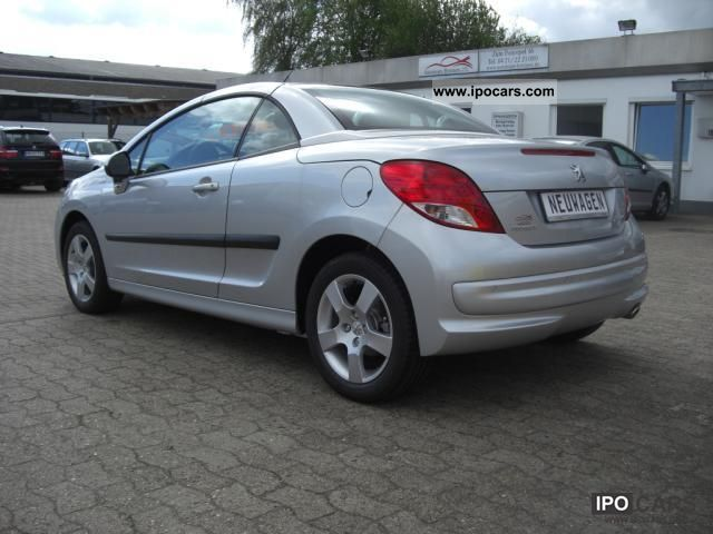 2011 peugeot 207 cc 120 vti with leather active 26 off car photo and specs. Black Bedroom Furniture Sets. Home Design Ideas