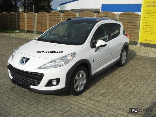 2011 peugeot 207 sw 95 vti outdoor panoramic roof car photo and specs. Black Bedroom Furniture Sets. Home Design Ideas