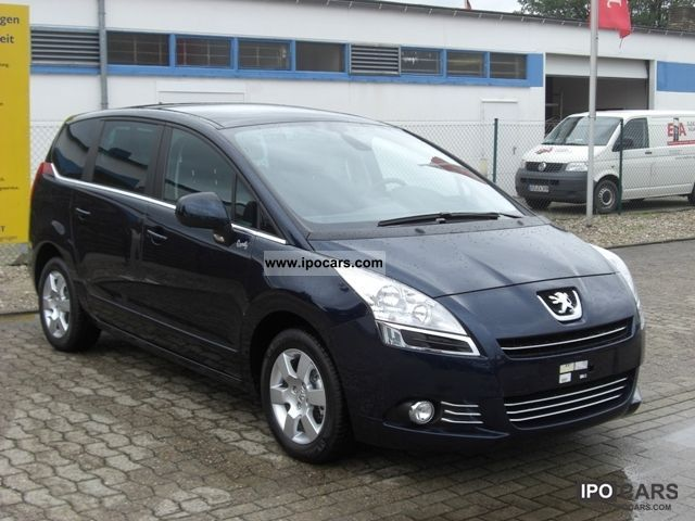 2011 peugeot 5008 hdi fap 110 family video plus package - car photo