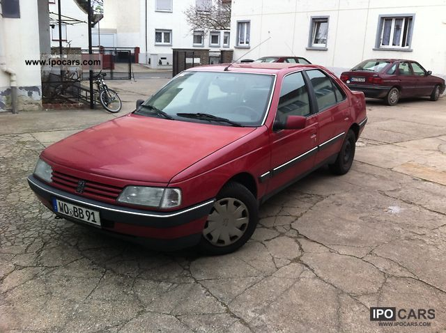 1992 Peugeot  405 SRI Limousine Used vehicle photo