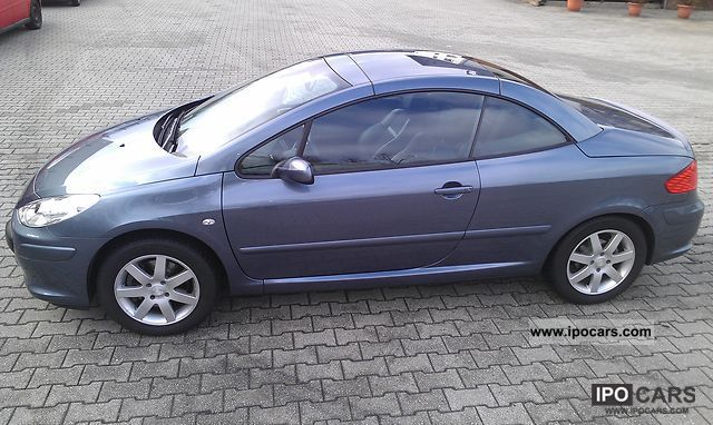 2007 peugeot 307 cc hdi fap 135 jbl car photo and specs. Black Bedroom Furniture Sets. Home Design Ideas