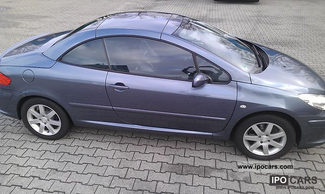 2007 peugeot 307 cc hdi fap 135 jbl - car photo and specs