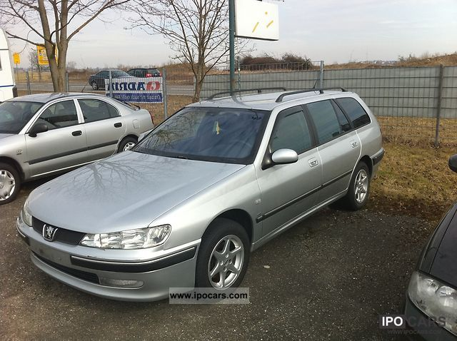 2002 peugeot 406 break hdi car photo and specs. Black Bedroom Furniture Sets. Home Design Ideas