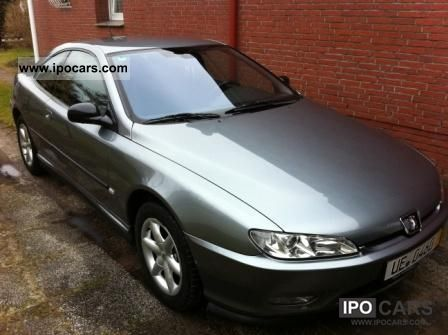 2002 peugeot 406 coupe hdi car photo and specs. Black Bedroom Furniture Sets. Home Design Ideas
