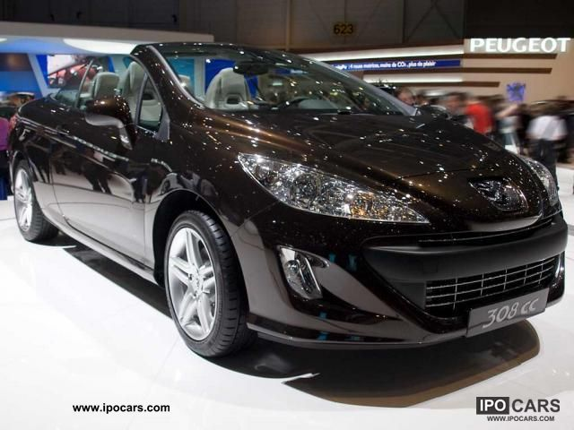 2011 peugeot 308 cc hdi active e stop start fap 110 82 car photo and specs. Black Bedroom Furniture Sets. Home Design Ideas