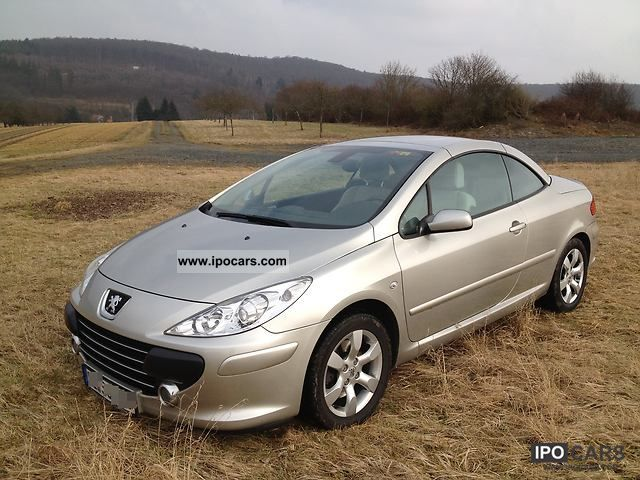 2007 peugeot 307 cc hdi fap 135 platinum car photo and specs. Black Bedroom Furniture Sets. Home Design Ideas