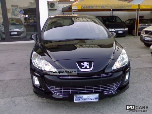 2008 peugeot 308 2 0 hdi fap 5p feline car photo and specs. Black Bedroom Furniture Sets. Home Design Ideas