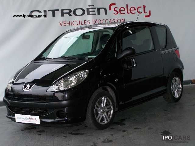 2007 peugeot 1007 1 4 hdi trendy car photo and specs. Black Bedroom Furniture Sets. Home Design Ideas