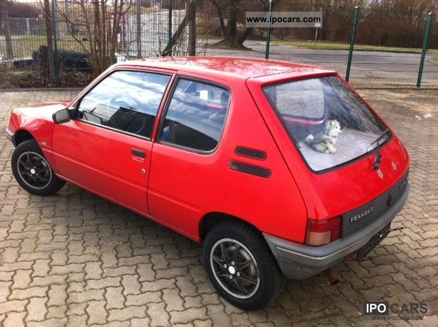 1994 Peugeot  205 Look no rust with MOT for 490 €! Small Car Used vehicle photo