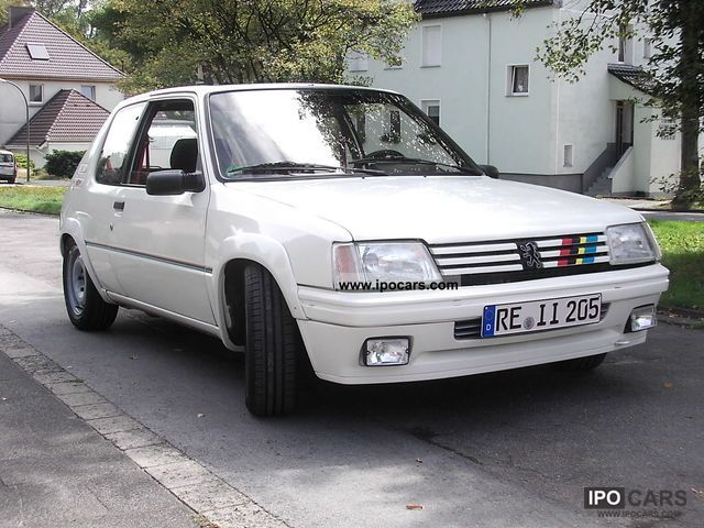 Peugeot  205 rally 1990 Race Cars photo