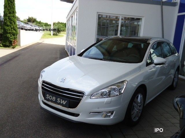 2012 peugeot 508 sw hdi fap 165 automatic business line car photo and specs. Black Bedroom Furniture Sets. Home Design Ideas