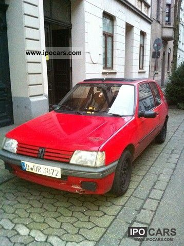 1992 Peugeot  205 XS Small Car Used vehicle photo