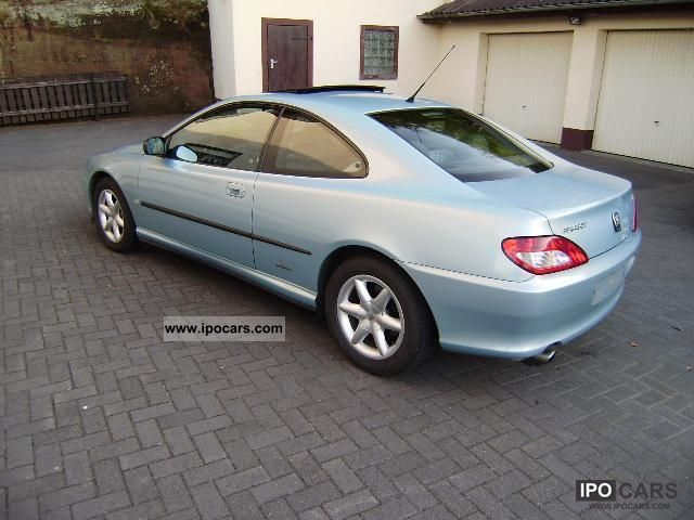 2002 peugeot 406 coupe 3 0 v6 automatic sunroof car photo and specs. Black Bedroom Furniture Sets. Home Design Ideas