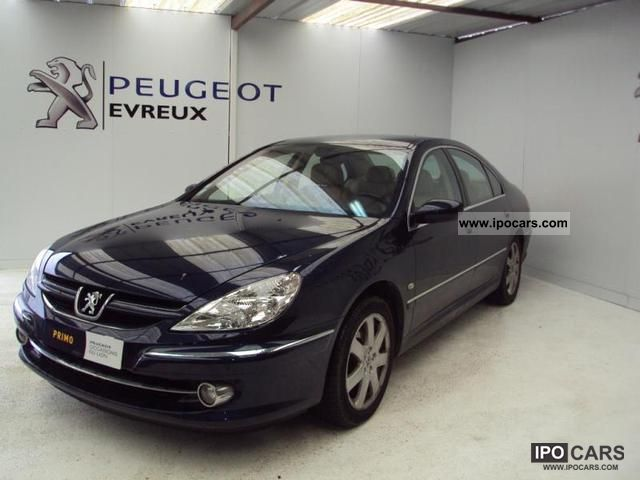 2006 peugeot 607 2 2 hdi 16v executive pack car photo and specs. Black Bedroom Furniture Sets. Home Design Ideas