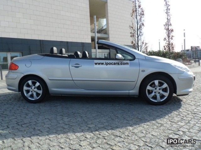 2007 peugeot 307 cc convertible leather air pdc efh car photo and specs. Black Bedroom Furniture Sets. Home Design Ideas
