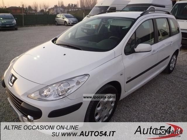 2008 Peugeot  307 1.6 HDi 16v 90CV station D-Sign Estate Car Used vehicle photo