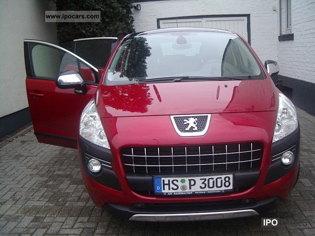 2009 peugeot 3008 hdi fap 150 platinum car photo and specs. Black Bedroom Furniture Sets. Home Design Ideas