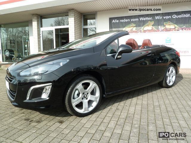 2012 Peugeot  155 THP 308 CC Allure Leather / SH, Xenon, PDC Cabrio / roadster Pre-Registration photo