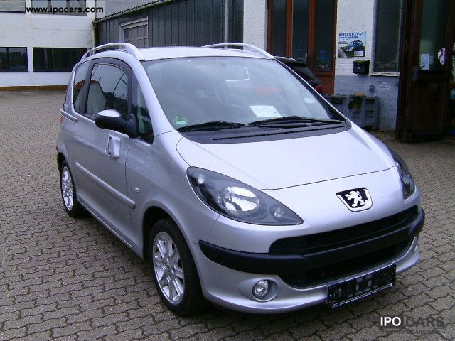 2009 peugeot 1007 75 sports with topzustand whb car photo and specs. Black Bedroom Furniture Sets. Home Design Ideas