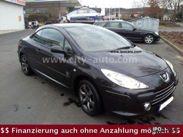 2007 peugeot 307 cc hdi fap car photo and specs. Black Bedroom Furniture Sets. Home Design Ideas