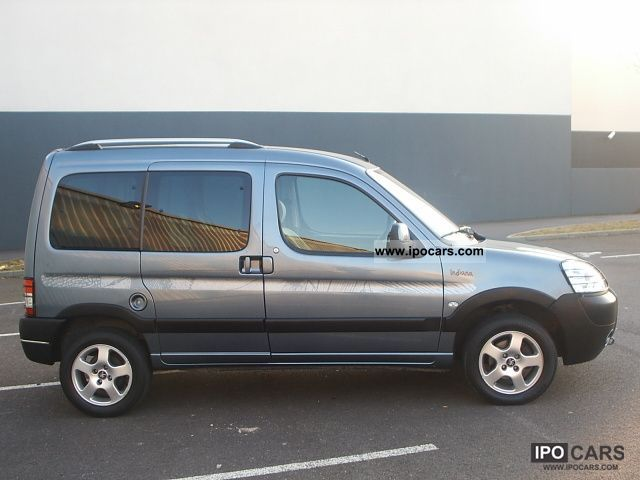 2007 peugeot partner 1 6 hdi 16v 92ch indiana car photo and specs. Black Bedroom Furniture Sets. Home Design Ideas