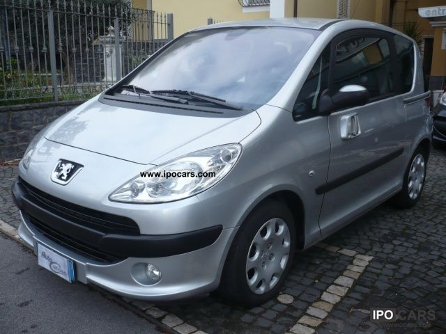 2007 peugeot 1007 1 4 hdi sporty car photo and specs. Black Bedroom Furniture Sets. Home Design Ideas