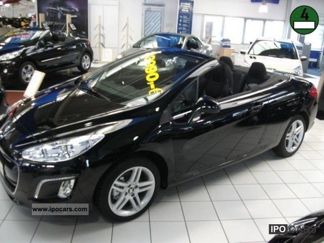 2012 peugeot 308 cc hdi fap 110 e start stop access car photo and specs. Black Bedroom Furniture Sets. Home Design Ideas