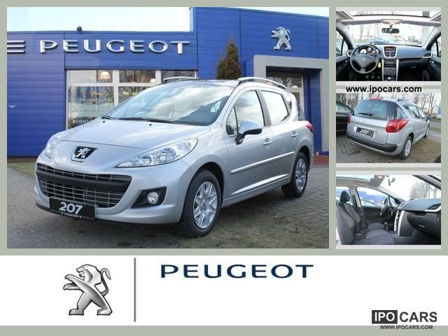 2012 peugeot 207 sw 75 tendance car photo and specs. Black Bedroom Furniture Sets. Home Design Ideas