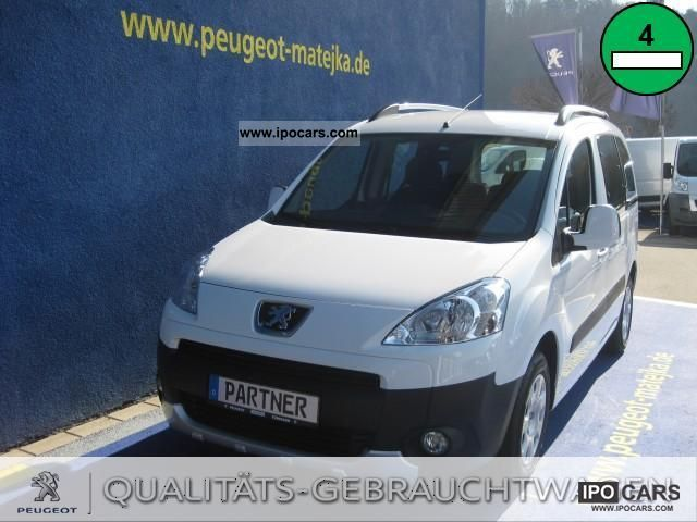 2011 Peugeot  Partner Tepee HDi FAP e-start & stop Estate Car New vehicle photo