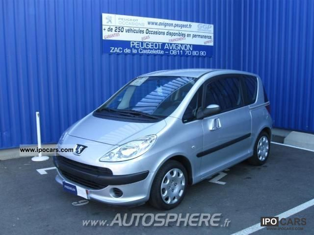 2008 Peugeot  1007 1.4 HDi Trendy Limousine Used vehicle photo