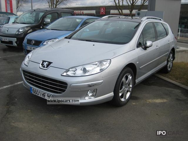 2008 peugeot 407 sw 2 0 hdi 16v fap 136ch pac premium car photo and specs. Black Bedroom Furniture Sets. Home Design Ideas