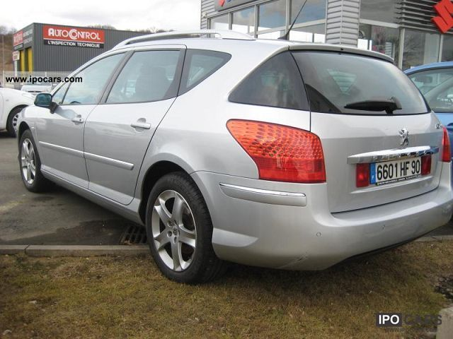 2008 Peugeot 407 SW 2.0 HDI 16V FAP 136ch PAC PREMIUM Estate Car Used ...