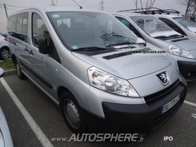 2011 peugeot expert tepee 6 1 hdi90 confort pack long car photo and specs. Black Bedroom Furniture Sets. Home Design Ideas