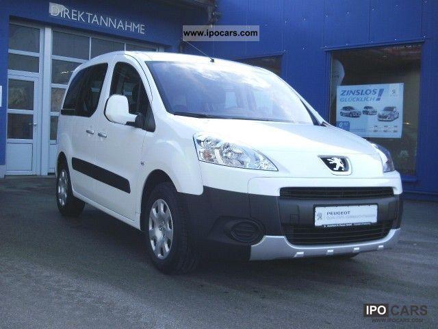 2011 Peugeot  Partner Tepee HDi 110 automatic air conditioning Van / Minibus Used vehicle photo