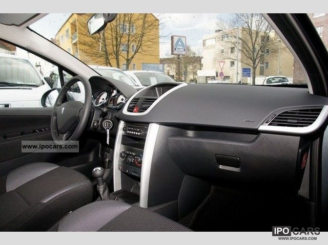 2012 peugeot tendance 207 hdi 90 5 door car photo and specs. Black Bedroom Furniture Sets. Home Design Ideas
