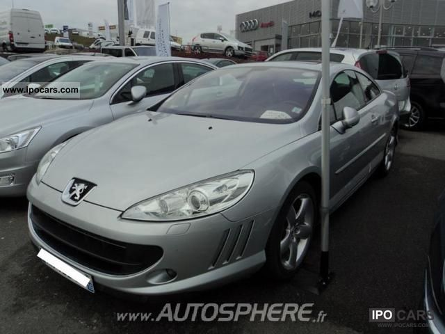 2010 peugeot 407 coupe 3 0 v6 hdi gt car photo and specs. Black Bedroom Furniture Sets. Home Design Ideas