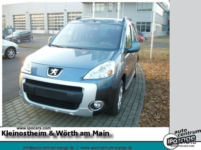 2012 Peugeot  Partner Tepee Outdoor VTi 120, CLIMATE, PDC Estate Car Demonstration Vehicle photo