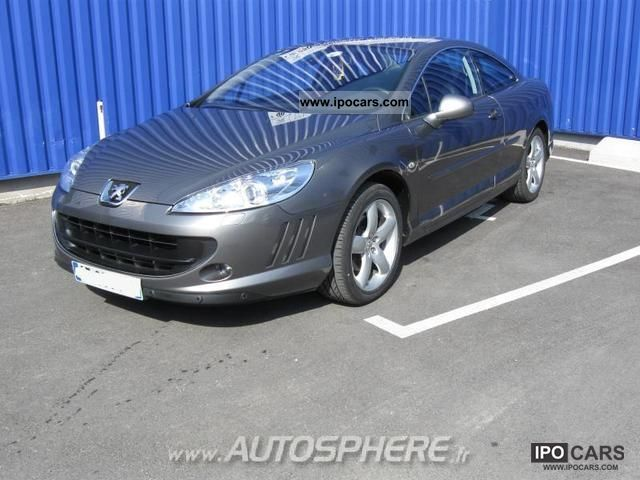 2009 Peugeot  407 Coupe 2.0 HDi FAP 163ch FÃ © line Sports car/Coupe Used vehicle photo
